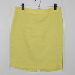 Sunny Yellow | Size 8 | Limited | Pencil Skirt